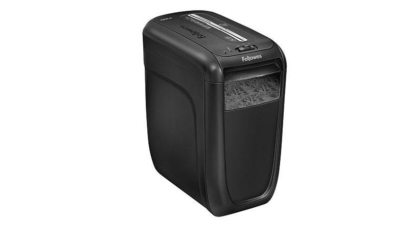 Destructeur Powershred 60Cs <br> Coupe croisée(Fellowes)
