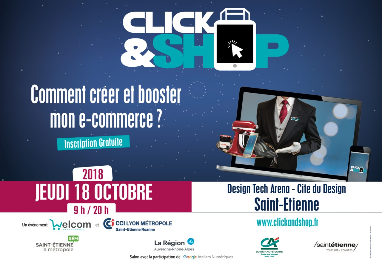 Les experts du e-commerce au salon Click & Shop