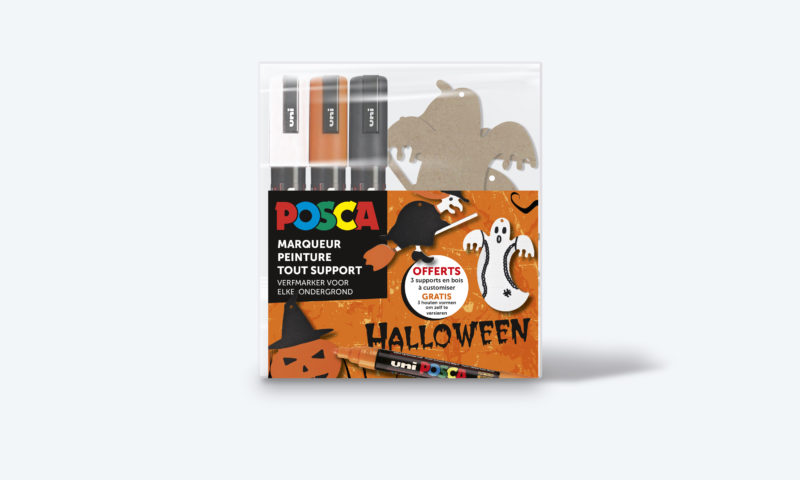 POSCA:Kit Halloween <br>(Uni-Ball Mitsubishi Pencil France)