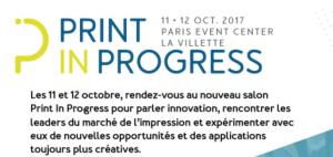 Print in Progress, les 11 et 12 octobre à Paris (La Villette)